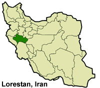 Lorestan-Iran-Map